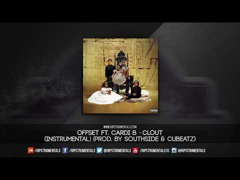 Offset Ft. Cardi B - Clout [Instrumental] (Prod. By Southside & CuBeatz) + DL via @Hipstrumentals
