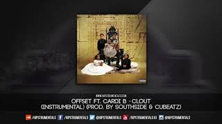 Offset Ft. Cardi B   Clout [Instrumental] (Prod. By Southside & CuBeatz) + DL Via @Hipstrumentals