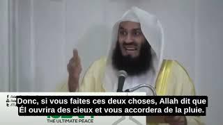 Deux Choses À Faire Pour Devenir Riche-Mufti Menk