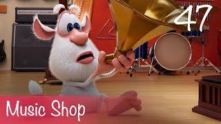 Booba - Music Shop - Episode 47 - Cartoon for kids