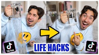 We TESTED Viral TikTok Life Hacks.... (SHOCKING) *PART 4*