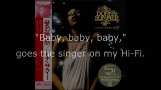 "Donna Summer - Need-a-Man Blues LYRICS HQ SHM ""Love to Love You Baby"" 1975"