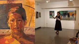 Kounalis  Kostas METH (Ατομική Έκθεση Ζωγραφικής του Κώστα Κουνάλη, 2020, Μ. Ε. Τ. Ηρακλείου)