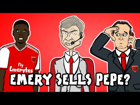 😥PEPE SOLD?! Emery wants his money back!😥 (Nicolas Pepe Advert Parody Free-Kicks Europa League)