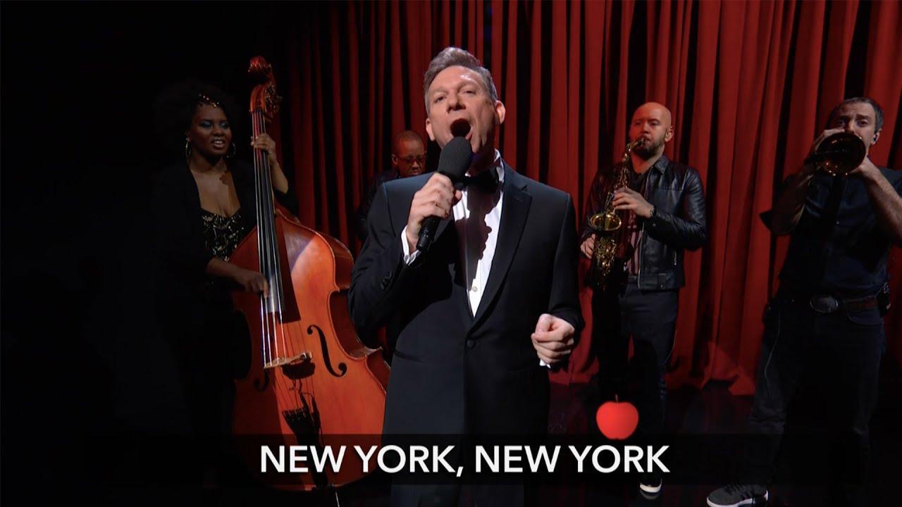 NYC Bids Adieu To Donald Trump (In Song) thumbnail