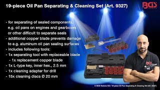 Tutorial: Oil Pan Separating & Cleaning Set | 19 pcs. (Item 9327)