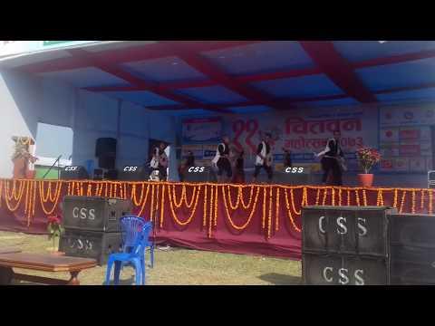 Tamang Selo Dance NAU TA MERO AKKALE - 11th Chitwan Mahotsab 2073/2017