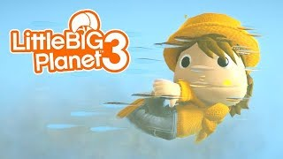 LittleBIGPlanet 3 - Gvel's Late Reunion 2 [Funny Film by GVEL232] - Playstation 4 Gameplay