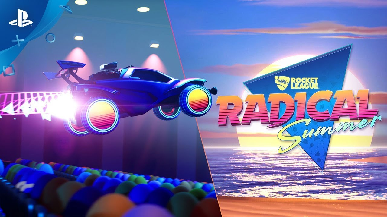 Rocket League's Radical Summer Event Goes Back in Time June 10