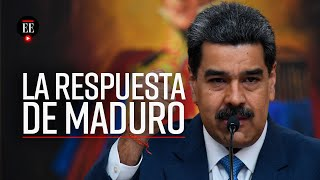 Maduro desplegará artillería ante supuesto plan contra Venezuela - El Espectador