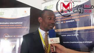 déclaration de M.  Motaze CASIMIR – CAMEROUN –  à l'occasion du séminaire d'Agadir sur l'application des normes comptables