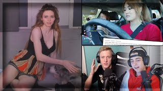 Amouranth Did An Oopsie | AngelsKimi Response To Driving | Cloakzy Response To Tfue