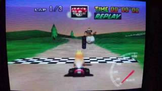 "MK64 - World Record on Yoshi Valley - 31""31* (NTSC: 26""04) by Daniel Burbank"
