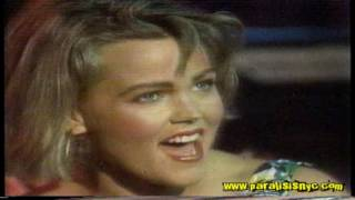 Belinda Carlisle   Mad About You Live At American Bandstand 1985