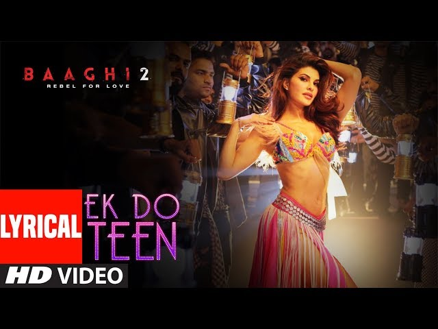 aik do teen Ek do teen lyrics from tezaab sung by alka yagnik lyrics of ek do teen song are written by javed akhtar which is composed by laxmikant and pyarelal.