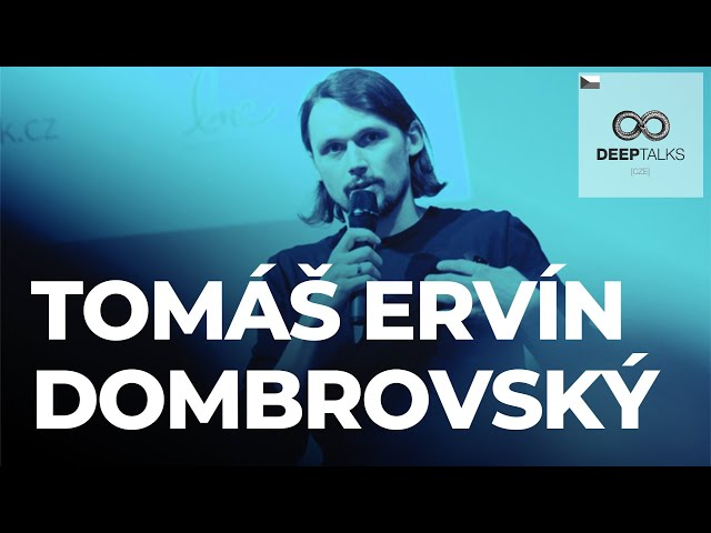 DEEP TALKS 75: Tomáš Ervín Dombrovský – Jaké změny čekat na trhu práce? A jak se na ně připravit?