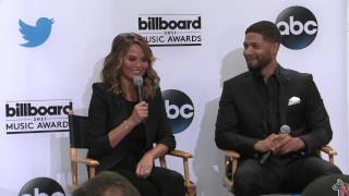 Entertainment Tonight Twitter Question (Chrissy) - BBMA Nominations 2015