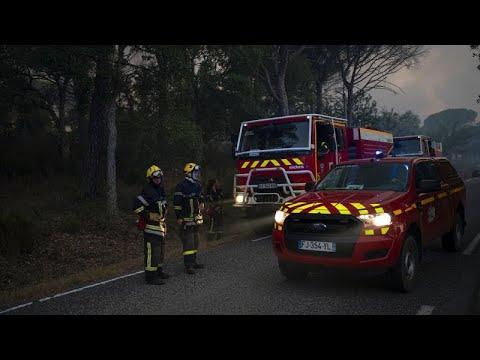 Γαλλία: Ενας νεκρός από τις πυρκαγιές κοντά στο Σεν Τροπέ…