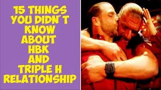 15 Things You Didn't Know About Shawn Michaels and Triple H's Relationship