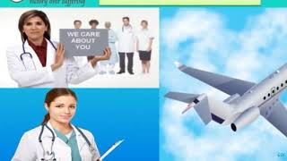 Air Ambulance in Bangalore and Jamshedpur by Medivic Aviation with well Spe