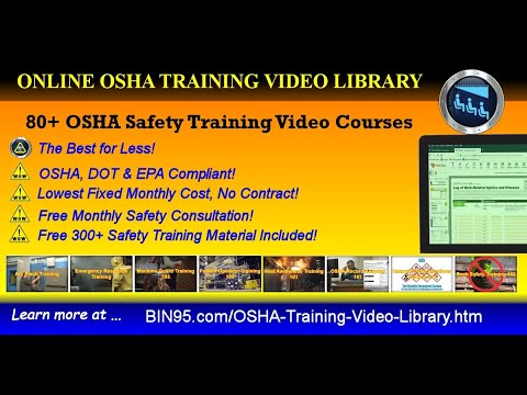 Online OSHA Training Library | OSHA safety videos in the workplace ...