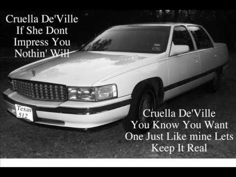 Cadillac Deville aka Cruella DeVille ©