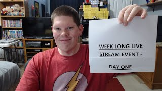 January Week Long Live Stream Event - Day 1 - January 16th 2019