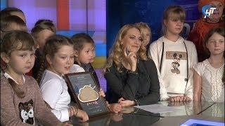 Юные победители конкурса видеопоздравлений с Днем учителя побывали в гостях у НТ