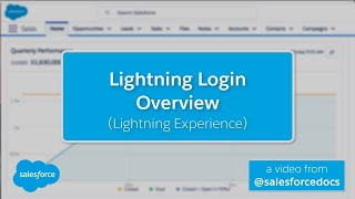 Lightning Login Overview (Lightning Experience)