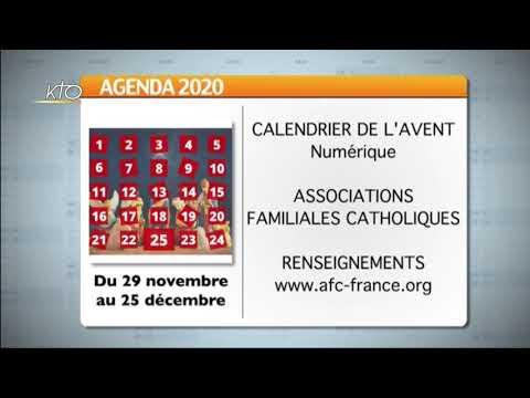 Agenda du 20 novembre 2020