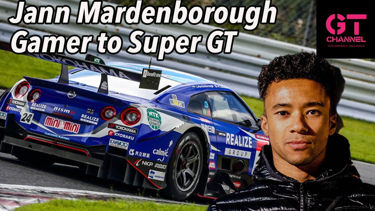How I Went from Gran Turismo to SuperGT Pro Driver Jann Mardenborough