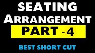 seating arrangement Part -4 (Bank Po / SSC / NDA / CDS / CSAT / State PSC exams)