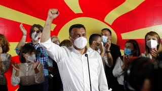 North Macedonia Vote: Social Democrats Declare Victory But Fail To Secure Majority