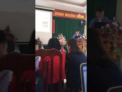 Trường Mn Phú Hộ tham dự hội nghị tập huấn