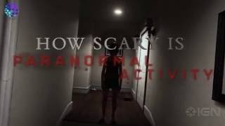 How Scary is Paranormal Activity Virtual Reality Game Trailer