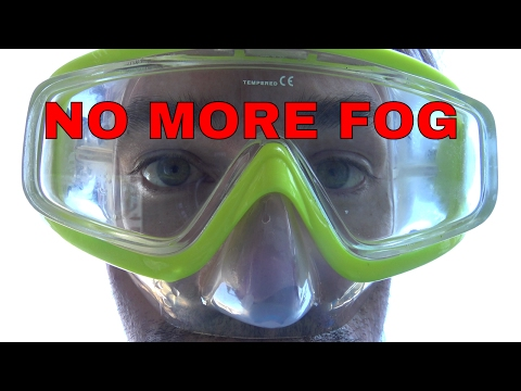 How to make your diving mask not fog – Stop scuba diving mask from fogging
