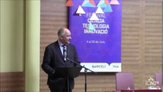 Andrea Ferrari visits Barcelona with ICN2 and ICFO
