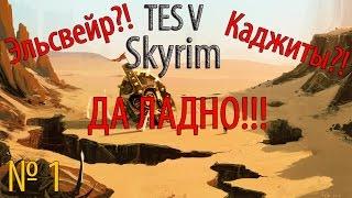 TES 5 Skyrim: Moonpath to Elsweyr №1 - Эльсвейр?! Да ладно!