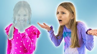 Amelia and Avelina find a magic invisibility ring