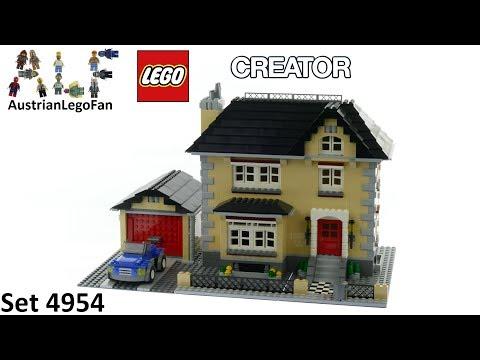 Vidéo LEGO Creator 4954 : Les villas