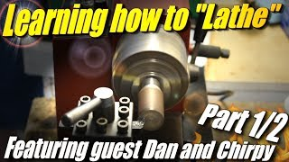 Learning to Use a Lathe, Part 1: Basic operation and facing cut