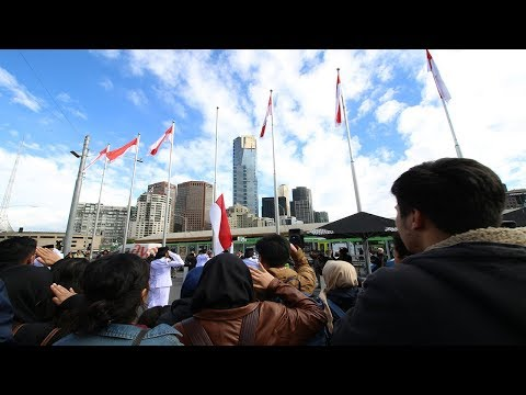 What Happened In Melbourne During INDONESIA Independence Day??