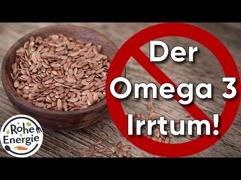 Der Omega 3 Irrtum - Warum Leinsamen NICHT reichen! (Dr. Volker Schmiedel)