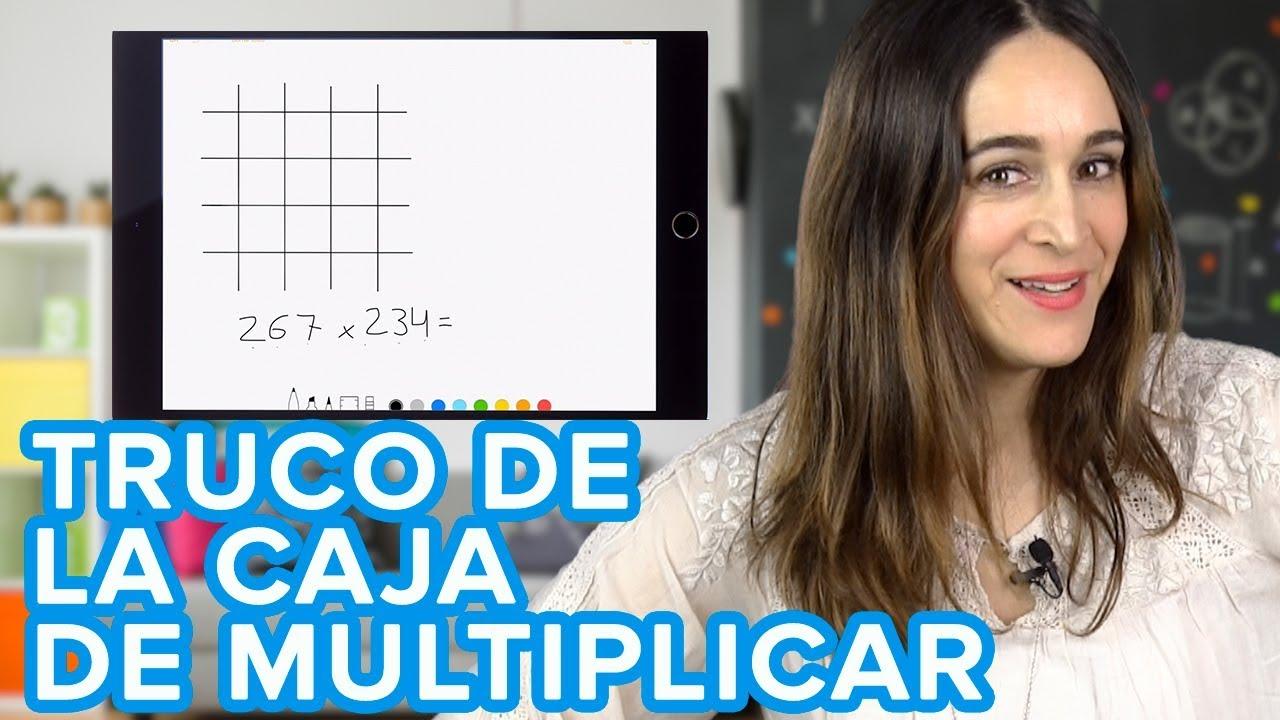 Truco de la caja para multiplicar números grandes ????  | Juegos de matemáticas para niños