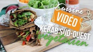 RECETTE : Kebab du Sud-Ouest végétarien