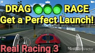 DRAG RACE TRICK!! Perfect launch in Real Racing 3.