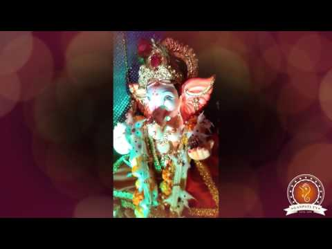 Saurabh Mulay Home Ganpati Decoration Video