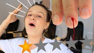 ลองทำเล็บในร้านที่แย่ที่สุดในประเทศรัสเซีย !! มีเลือดพุ่งจริงๆ
