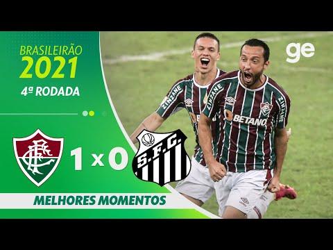 Vídeo / Fluminense 1 x 0 Santos - Brasileirão 2021!