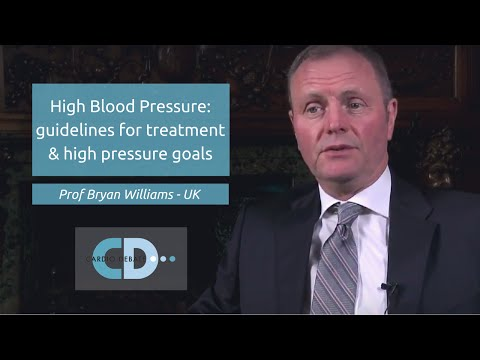 High Blood Pressure Guidelines For Treatment